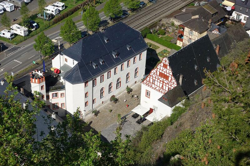 Winzerkeller Schloss Philippsburg | Galerie | Von oben